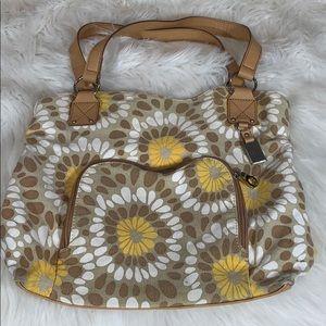 Relic flower print purse